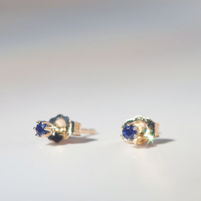 The Tiniest Stud, Sapphire (single) image