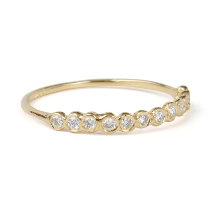 Demi Circlet Ring, White Diamonds image
