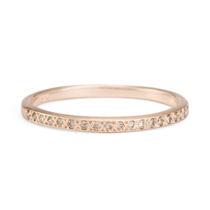 Champagne Diamond Band image