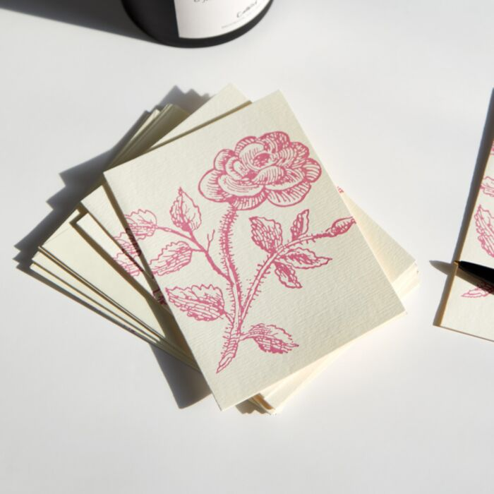 Rose Thorn Card Set