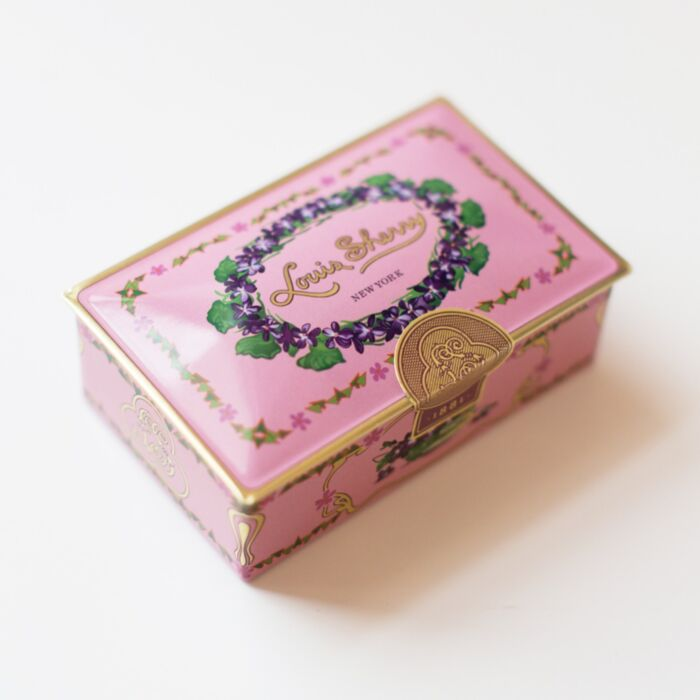 Jewel Box Chocolate Tin, Orchid