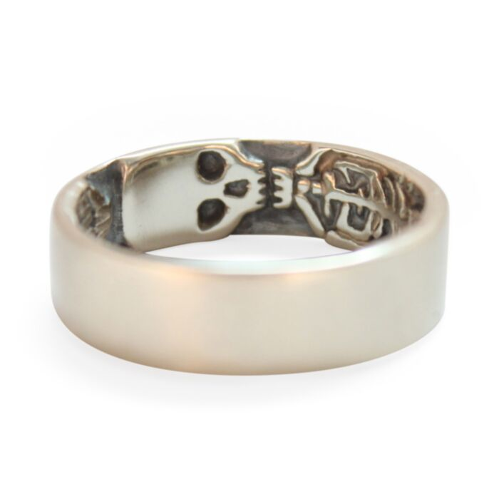 Skeleton Band Memento Mori Ring