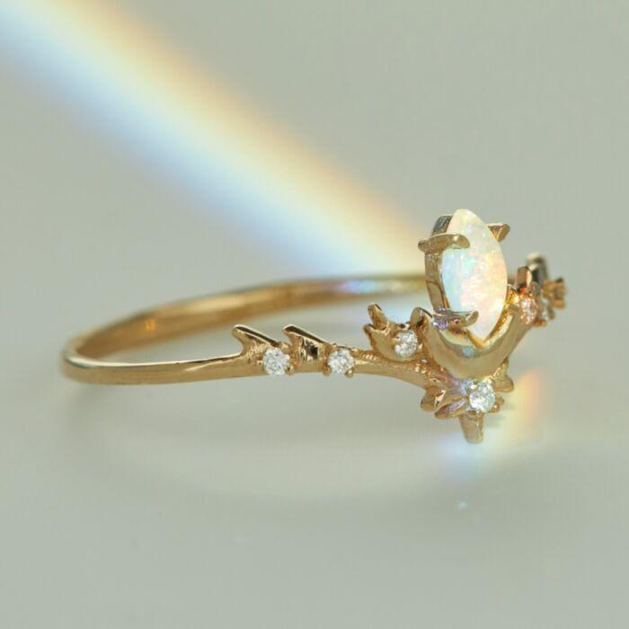 Opal Lvna Supreme Ring