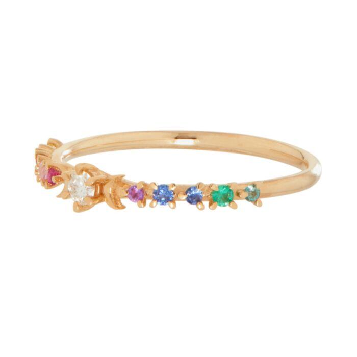 Rainbow Stardust Ring image