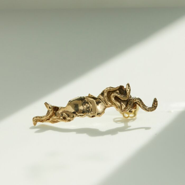 West Medusa Relic Earring (Single) image