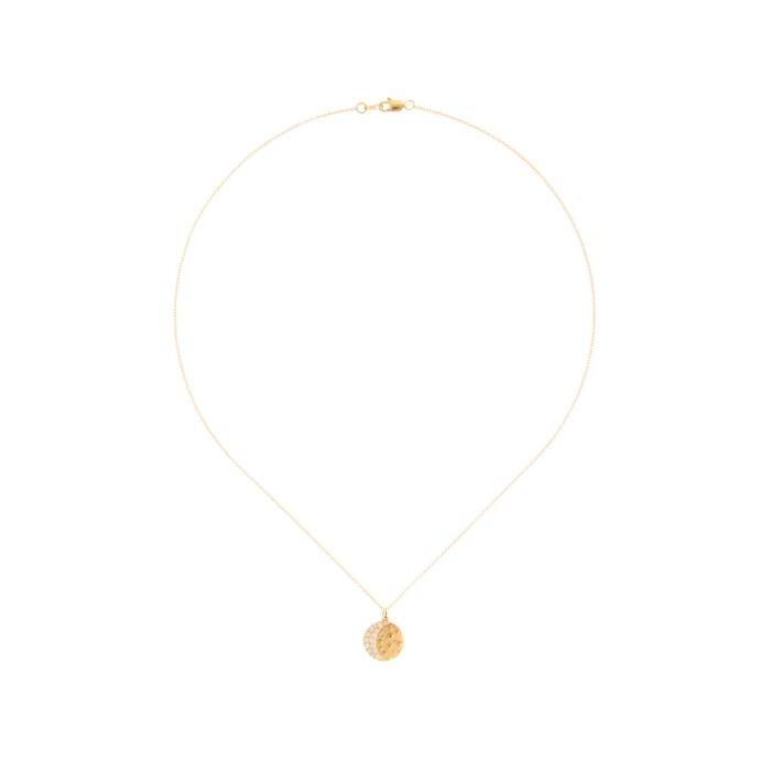 Waning Crescent Moon Necklace image