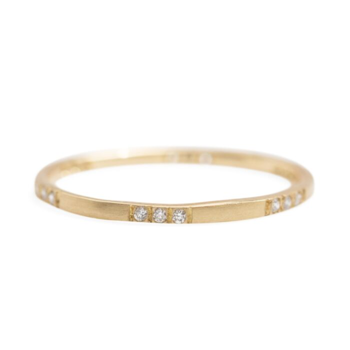 Spaced Diamond Band image