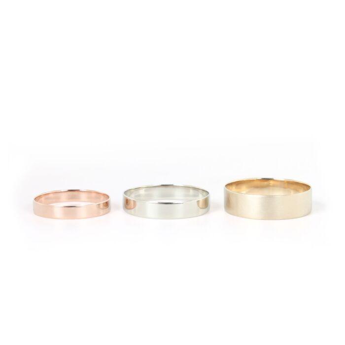 Thin Rings, 6mm image