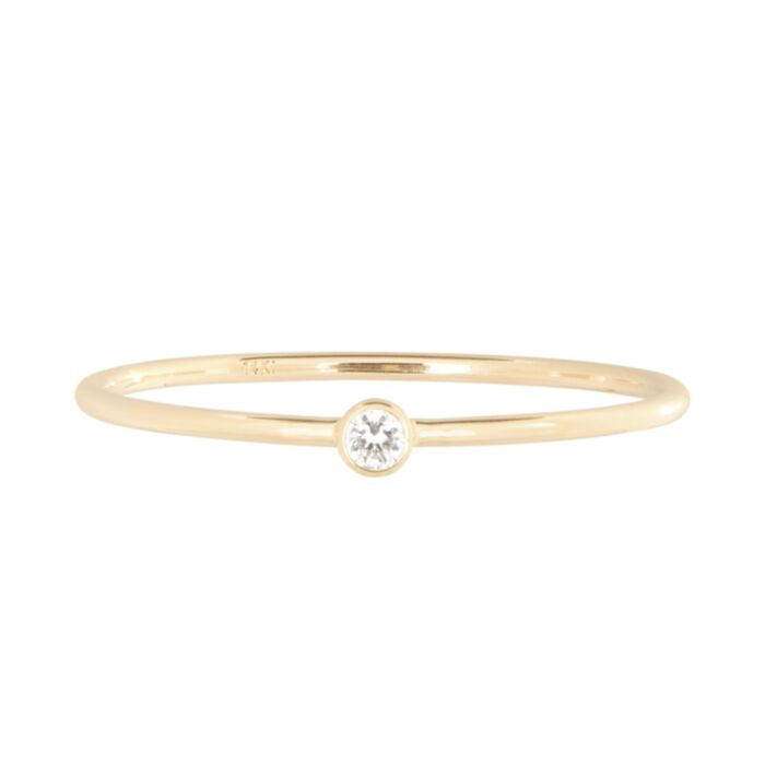 Little Lift Diamond Stacking Ring