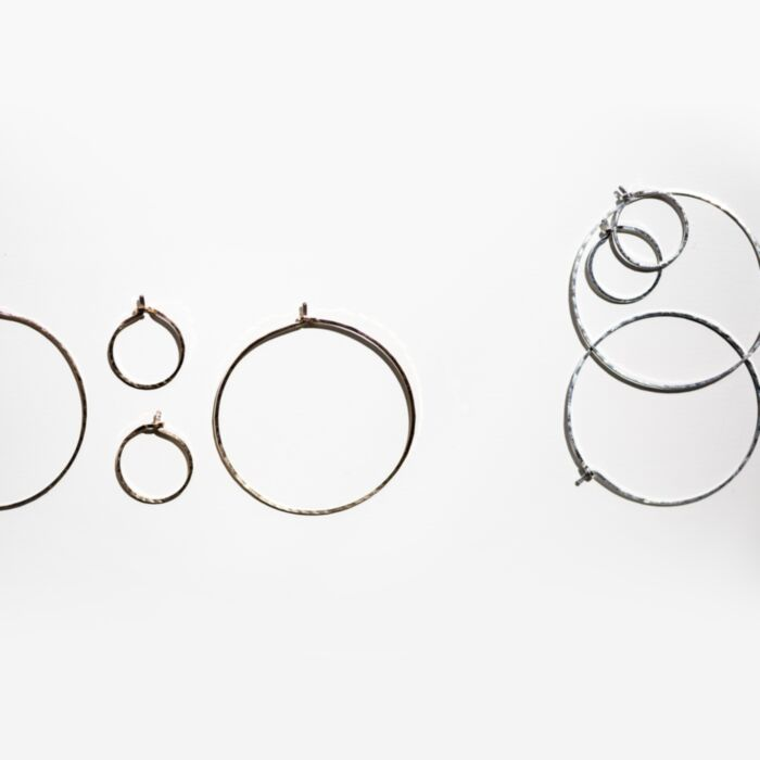 Hoop Dream Earring, silver (single) image