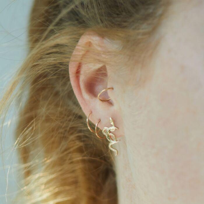 Snake Moon Earring (single) image