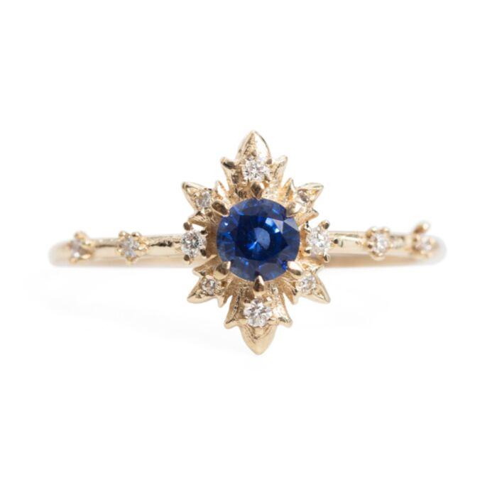 Sapphire Termina Ring