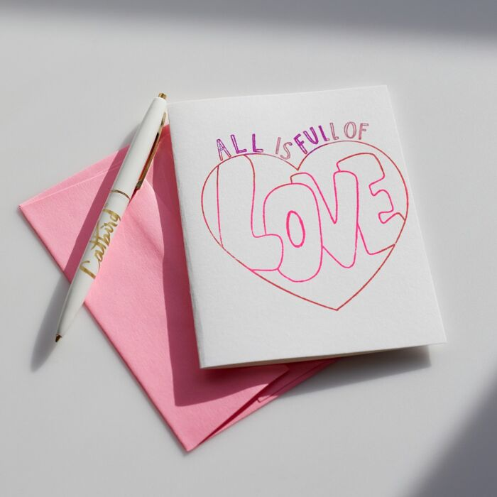 All is Full of Love Card image