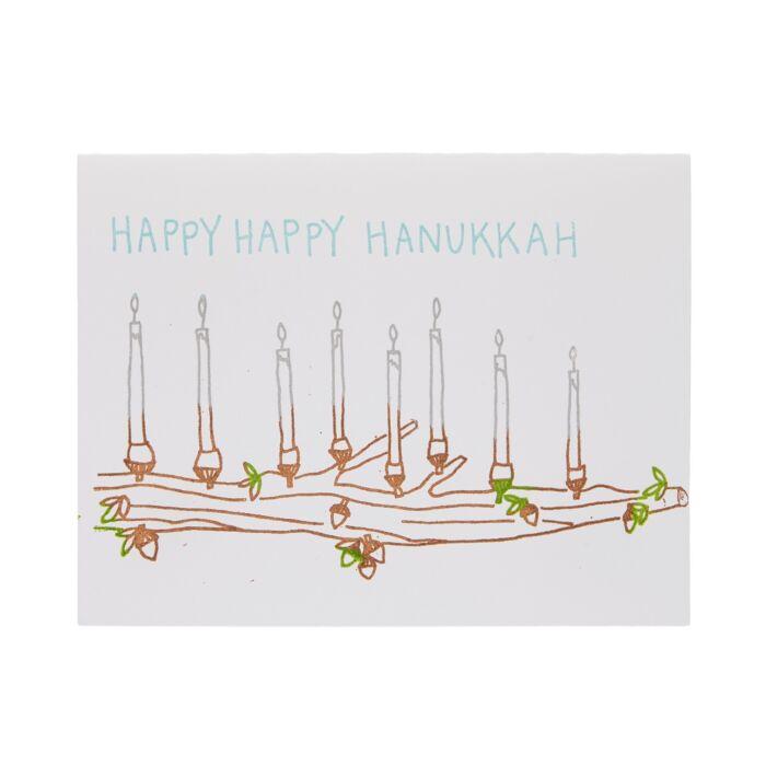 Happy Happy Hanukkah Card