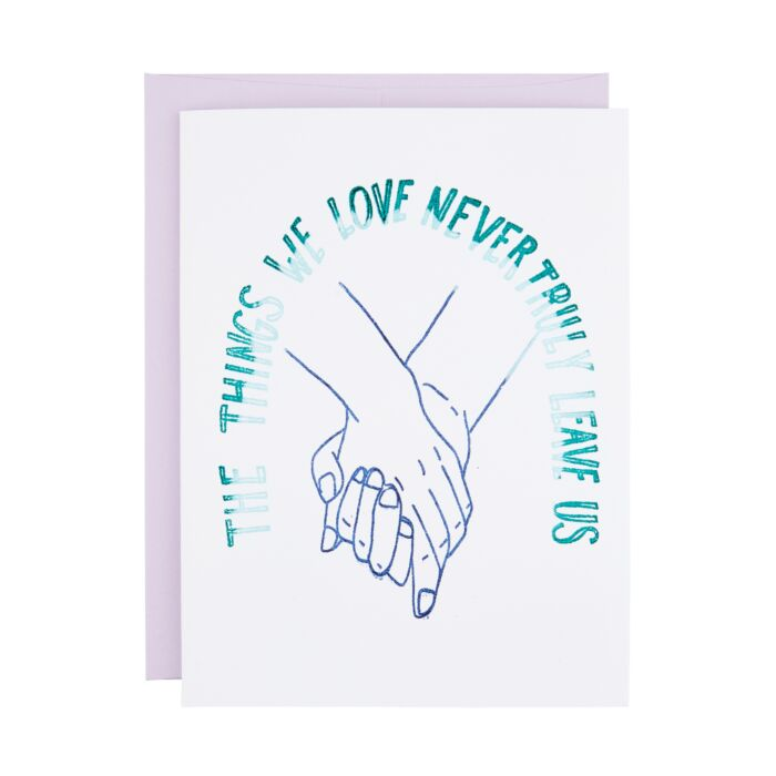 The Things We Love Card