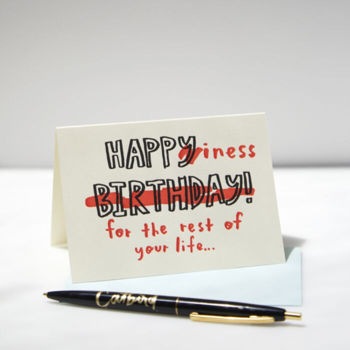 Happiness Birthday Card
