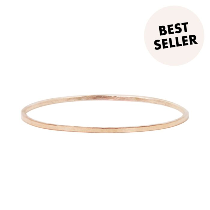 Threadbare Ring, Rose Gold