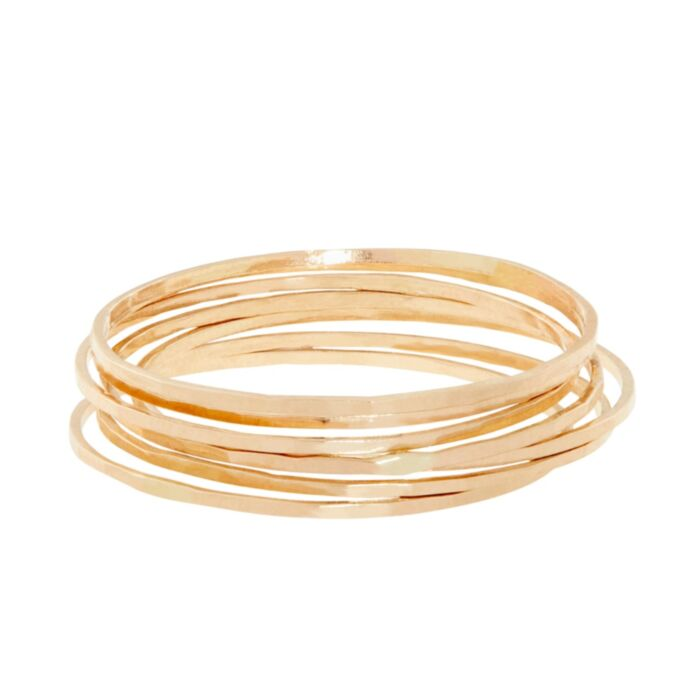 Threadbare Ring, Yellow Gold
