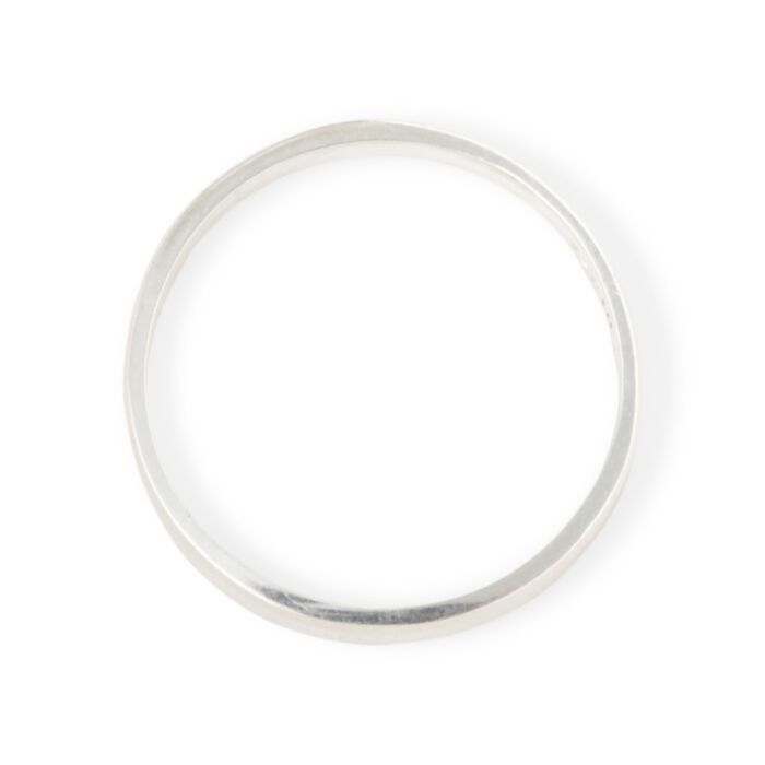 Tomboy First Knuckle Ring, Silver image