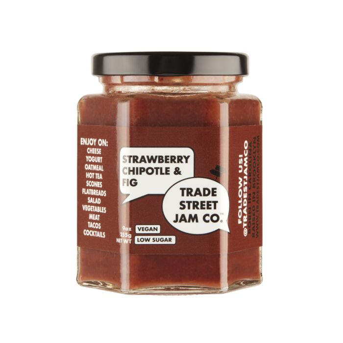 Strawberry Chipotle and Fig Jam