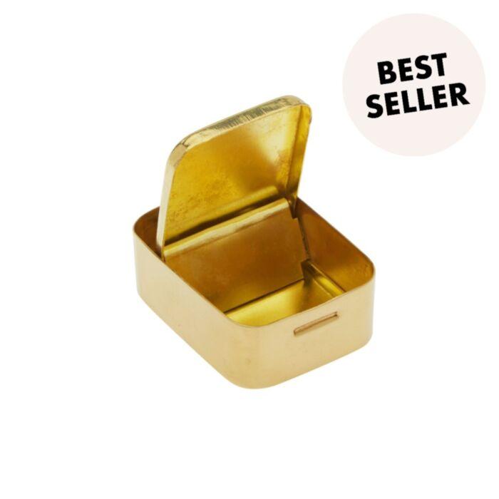 Very Shiny Brass Bin