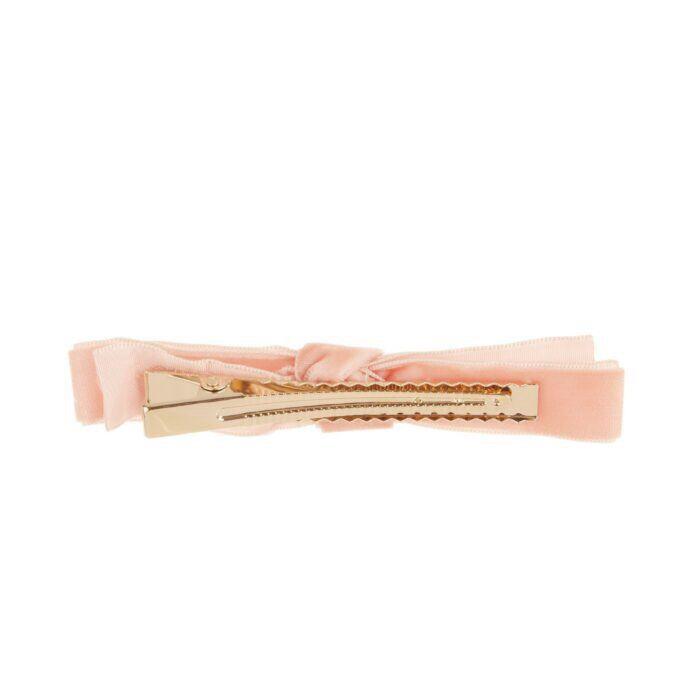 Alice's Big Velvet Barrette, Pale Pink image