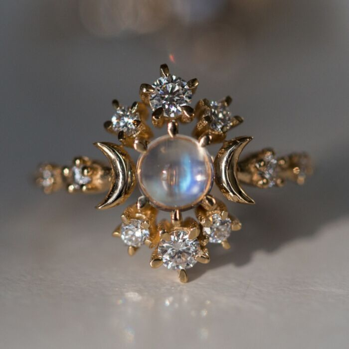 Wandering Star Cosmos Ring