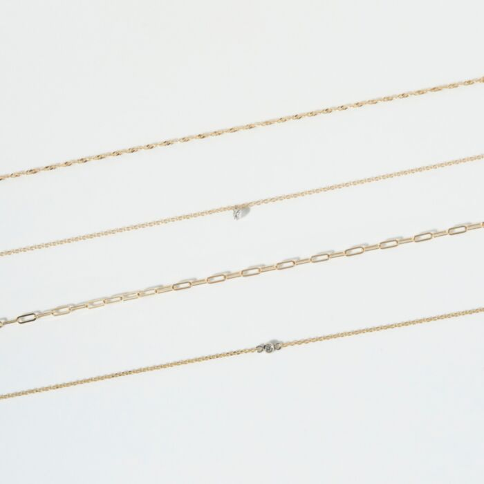 Forever Pinprick Bracelet, Yellow Gold image