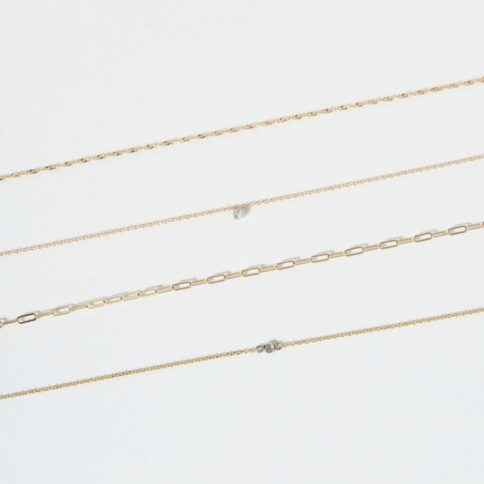 Forever Pinprick Bracelet, White Gold image