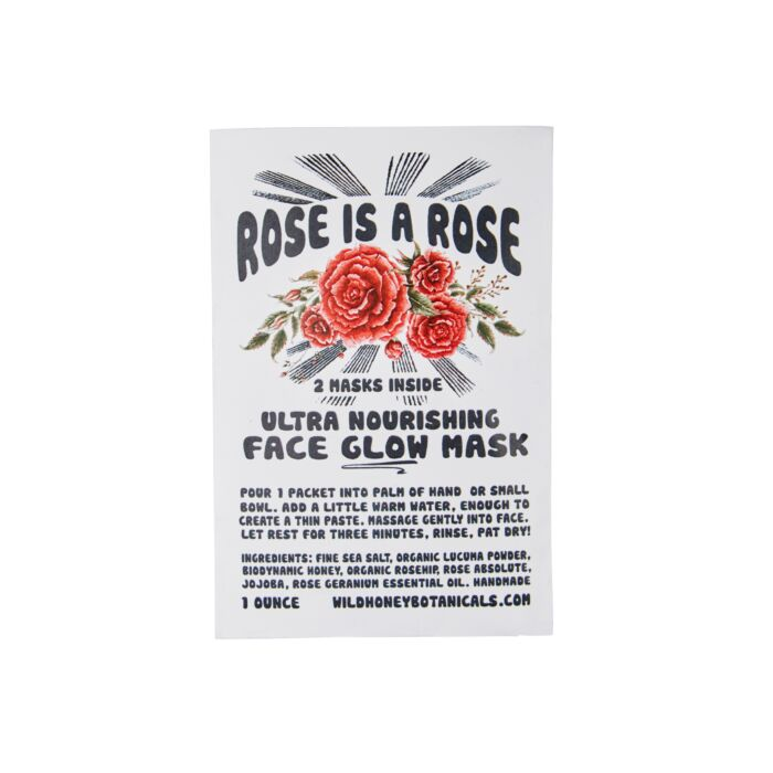 Rose is a Rose Glow Mask