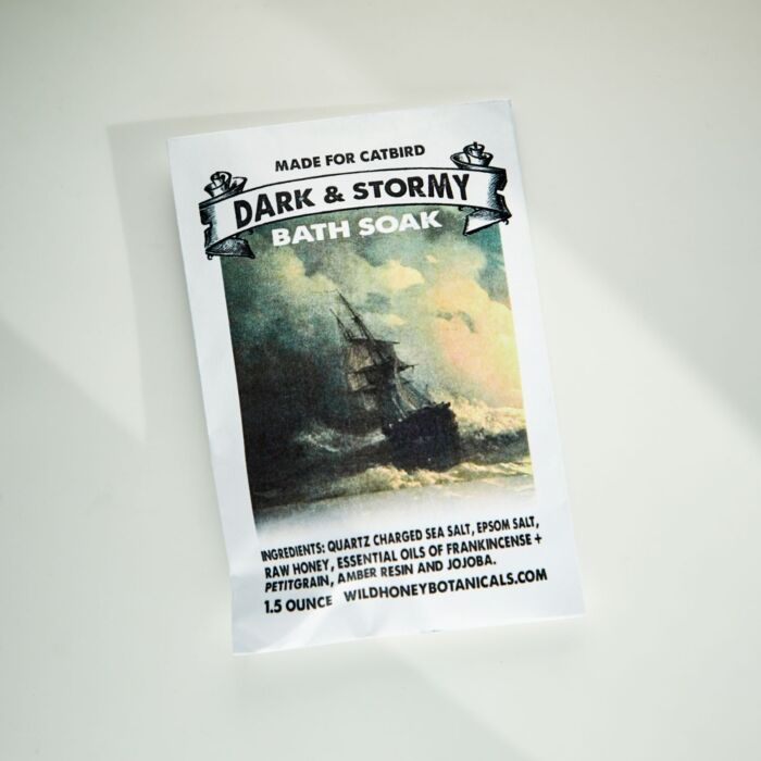 Dark & Stormy Bath Soak image