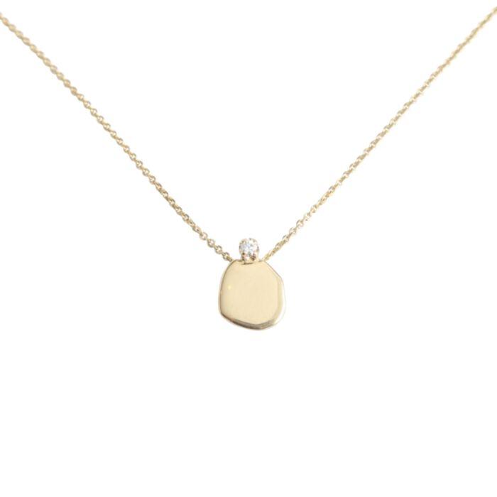 Diamond Slip Necklace