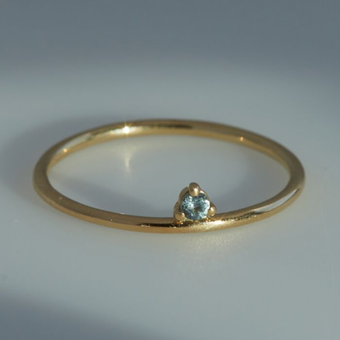 One-Step Ring, Sapphire