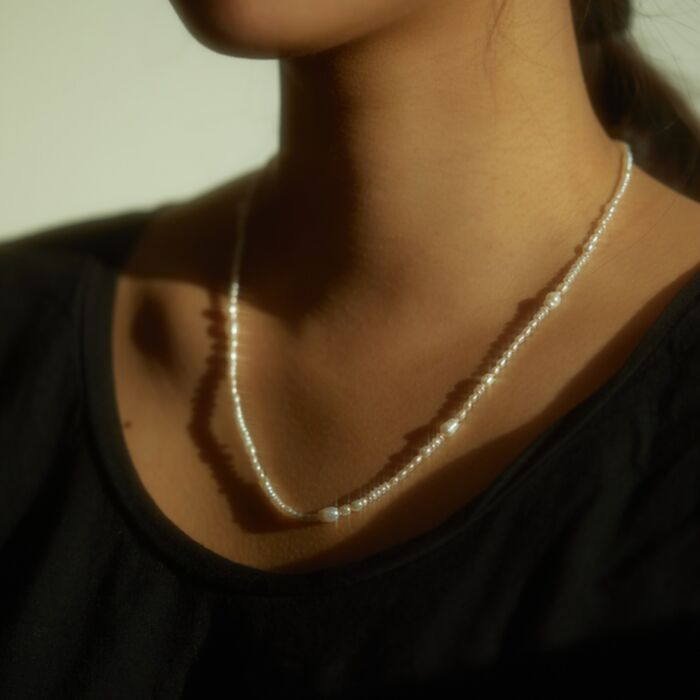 Pearl Collage Necklace image