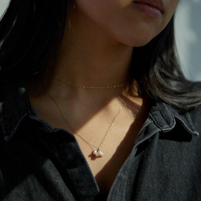 Pearl Cloudburst Necklace image
