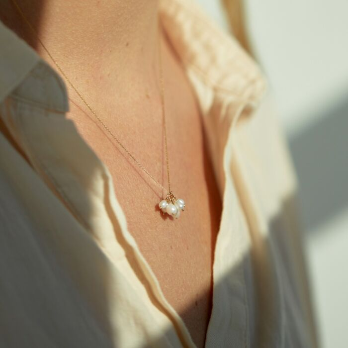Pearl Cloudburst Necklace image