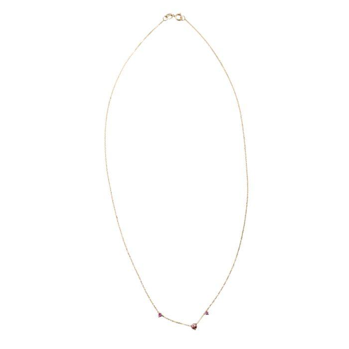 Three-Step Necklace, Tourmaline image