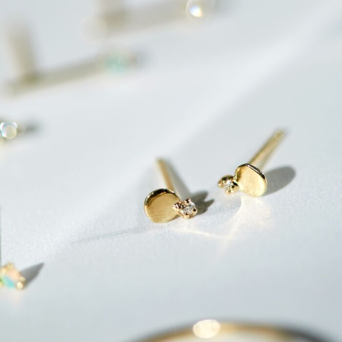 Diamond Slip Stud, Small (single) image