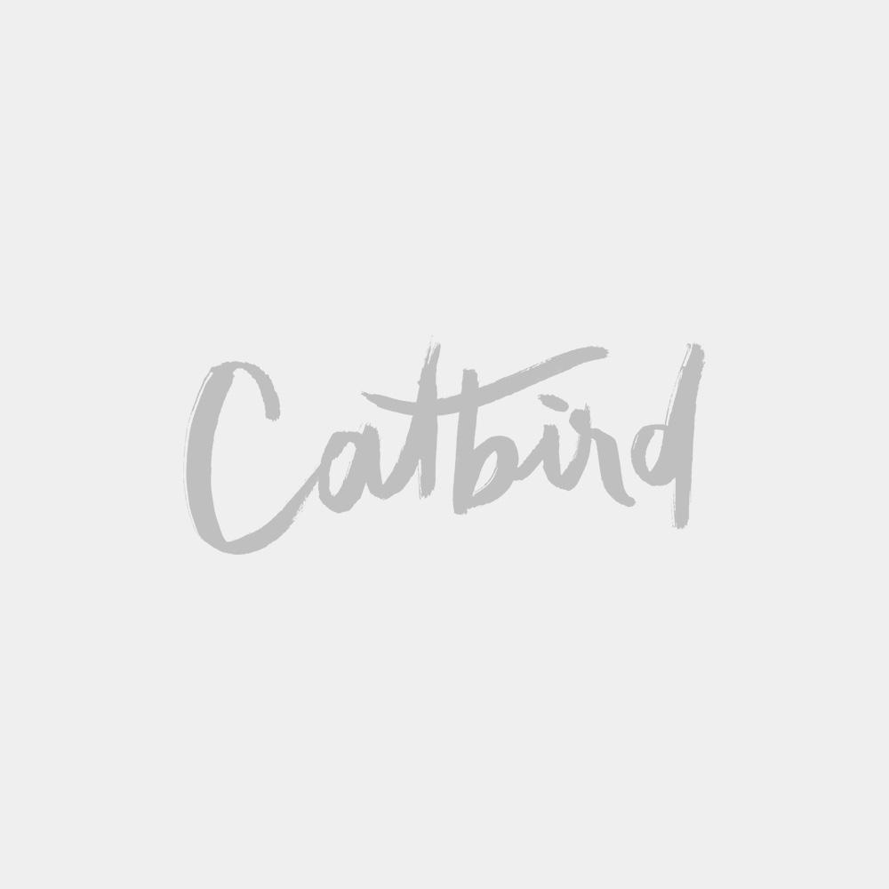 White Diamond Stitch Earring (Single)