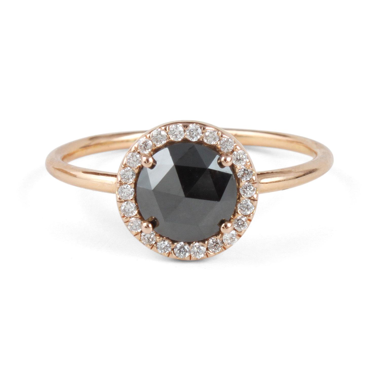 Black Diamond Aura Ring Catbird