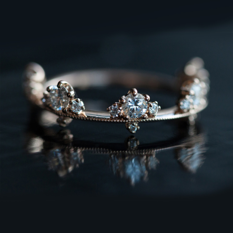 We wedding headpiece jewellery - Plum Blossom Band