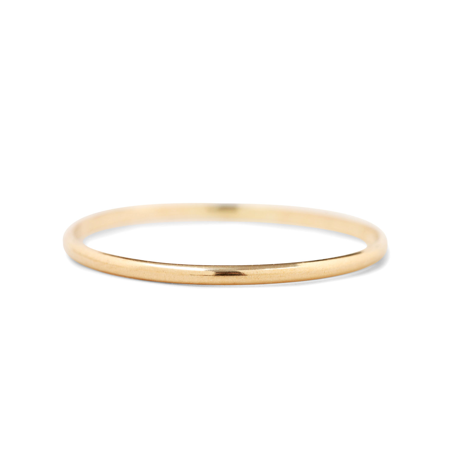 Catbird Mignon Memory Ring Yellow Gold