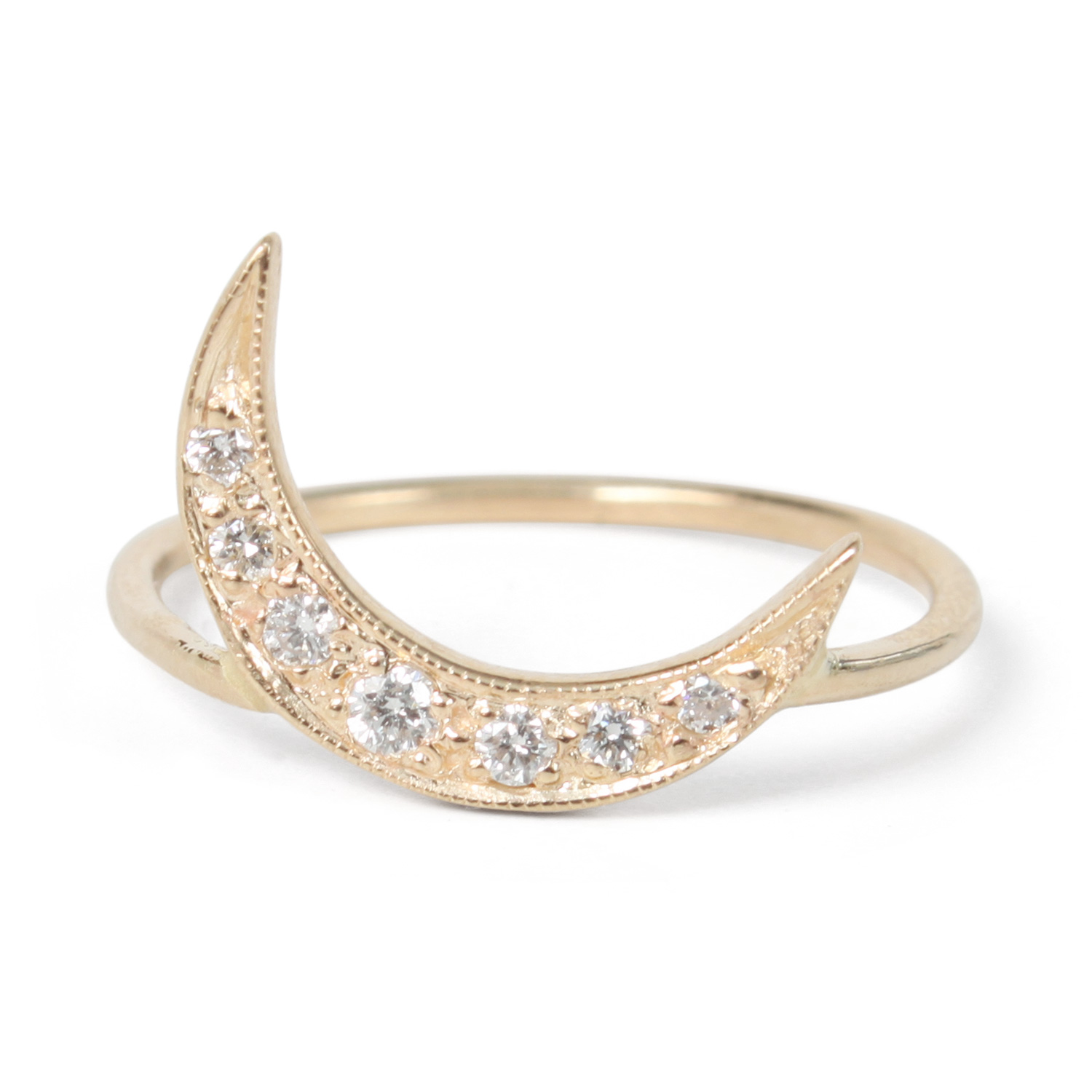 Crescent Moon Ring Catbird