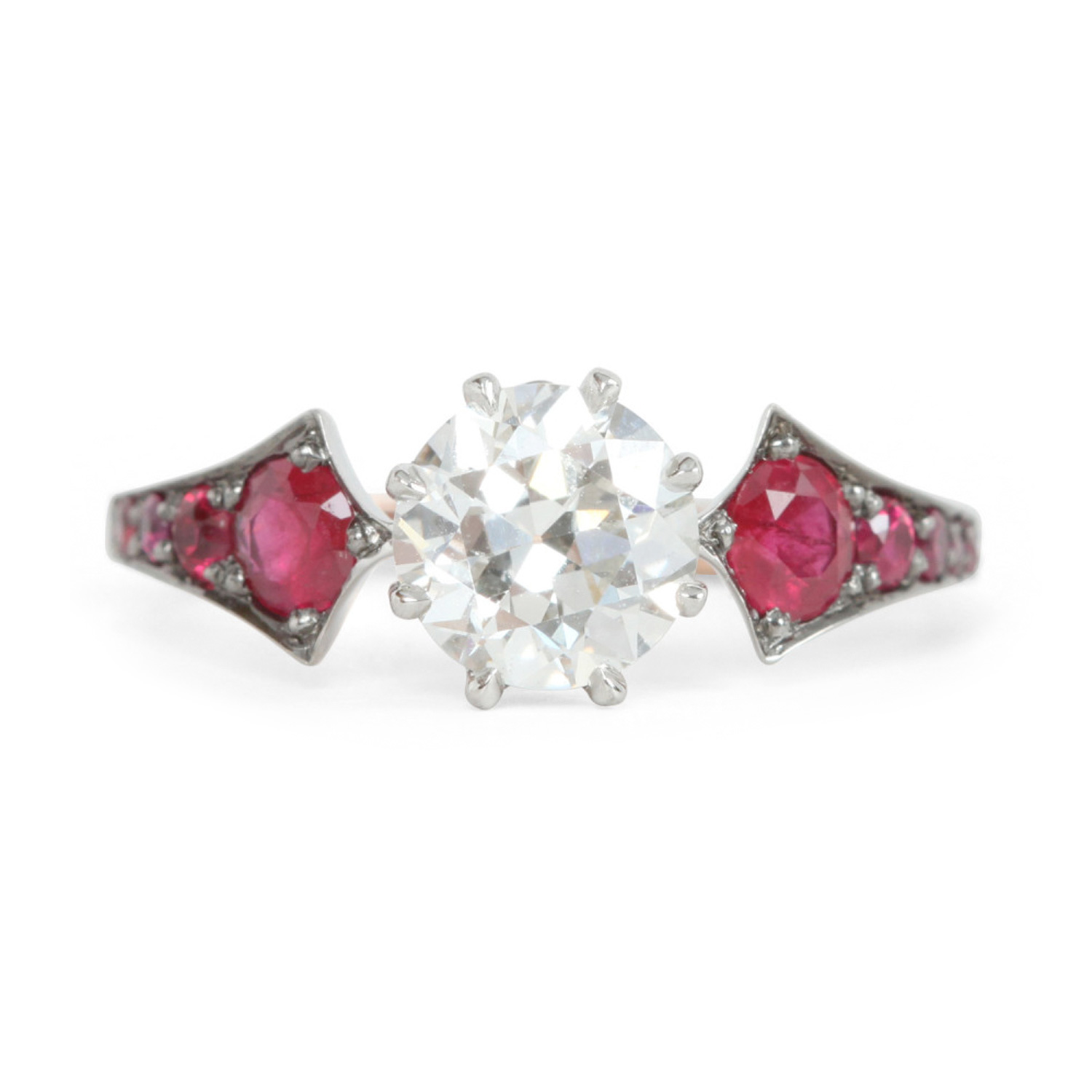 Ruby Wings Ring Engagement Rings Catbird