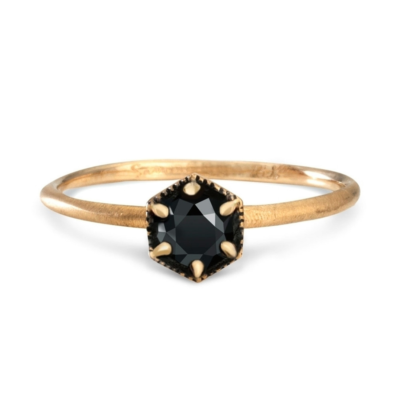 Fairy Light demi pavé black diamond Catbird