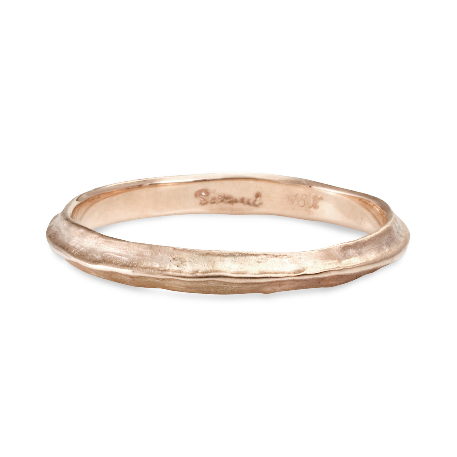 Catbird Classic Wedding Bands Half Round Band 4mm Catbird