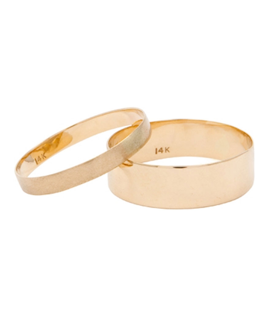 Thin Rings 5mm Wedding Bands Catbird