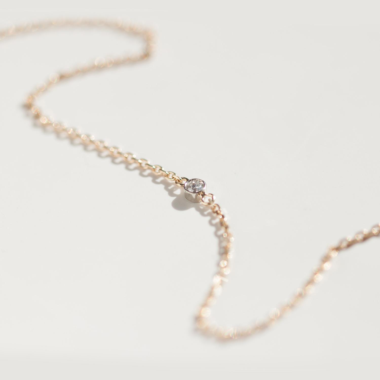 tiny corsage bracelet yellow gold catbird
