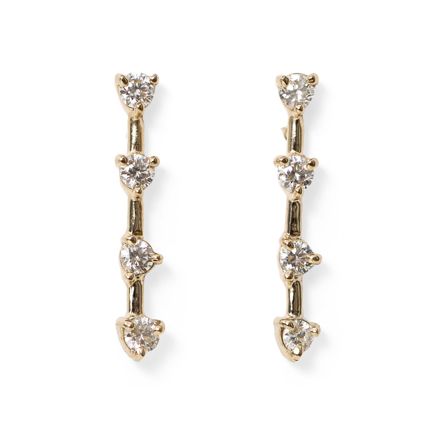 stud product earrings pax posts xl pearl bhldn zoom a gold jewellery in bride
