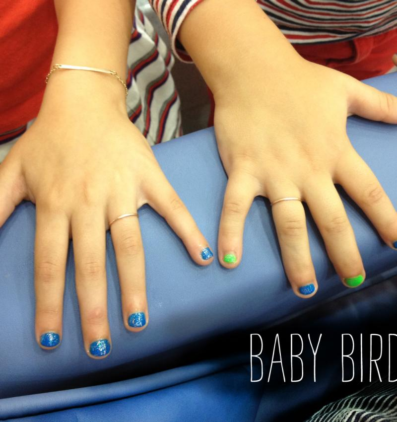 How We Wear It: Baby Birds